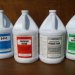 Upholstery cleaning chemicals – detergents, shampoos