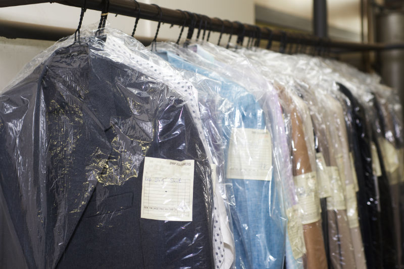 How dry cleaning works-nashville tn-red bag dry cleaning