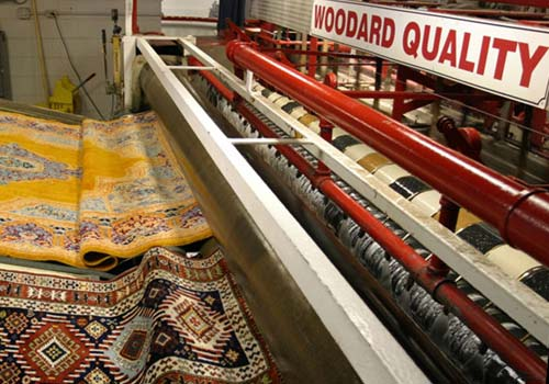 the woodard rug cleaning machine