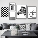 Methods for Rocking Black and White Wall Craft